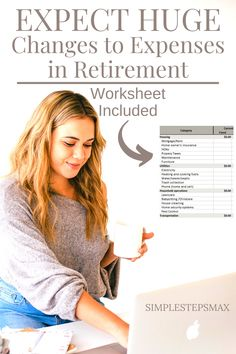 This personal monthly excel expense tracker is perfect for your budgeting needs today and will help with your retirement savings plan too. This personal finance tracker helps shows you how your expenses will change between today and when you retire. #retirement #budgeting #budget #personalfinance