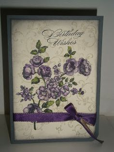 Basic Gray and Vanilla Card stock, Elements of Style stamp set, basic gray and sahara sand , elegant eggplant ink,
