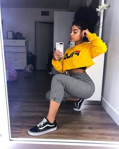 81 cute fall outfits that will make you look an amazing 1 Cute Fall Outfits, Swag Outfits, Dope Outfits, Outfits For Teens, Trendy Outfits, Summer Outfits, Girl Outfits, Fashion Outfits, Fashion Trends