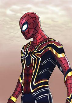 Iron Spider by Tiago CostaAvengers infinity war Marvel Comics, Marvel Comic Universe, Ms Marvel, Captain Marvel, Spiderman Art, Amazing Spiderman, Spiderman Suits, Cartoon Wallpaper Hd, Avengers Wallpaper