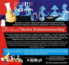 Już od 1 do 14 października w Poznaniu odbędzie się FESTIWAL KUCHNI ŚRÓDZIEMNOMORSKIEJ, którego jesteśmy PATRONEM. Dodatkowo w dniach 6 – 7 października możecie z korzystać z 30% Rabatu w restauracjach biorących udział w FESTIWALU.