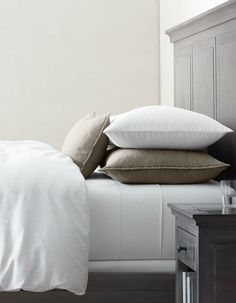 To have perfectly worn-in sheets, you need to use and enjoy them for a long time and to do that you have to start with quality, go-the-distance bedding.