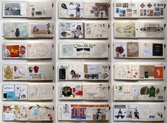 I adore Moleska's art journals... perhaps one could be inspired to use some of these ideas for the recipe journal?