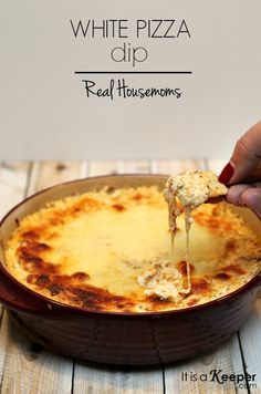 This easy White Pizza Dip comes together very quickly and is always a crowd-pleaser.