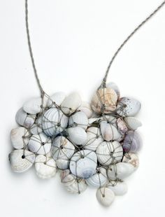 SEASHELL NAUTICAL NECKLACE by DESIGNSQUISH on Etsy