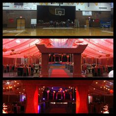 Sparks High School Prom 2013--this is our gym transformed.