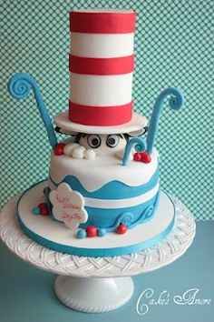 This doctor seuss cake is awesome!