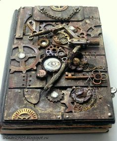 Steampunk journal 💙