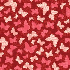 Marcus Berringer Spintastic Butterfly Suzani Red