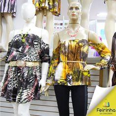 Blusa ciganinha, A-M-O! Super tendência! #Love #FeirinhadaConcórdia #Fashion #Tendência