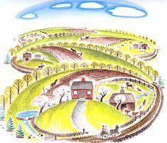 The Little House (spring): Virginia Lee Burton