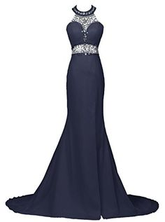 Dresstells® Long Mermaid Prom Dress Beadings Halter Evening Gowns with Slit Dresstells http://www.amazon.co.uk/dp/B01C780RYG/ref=cm_sw_r_pi_dp_Bx19wb0ZEPNB3