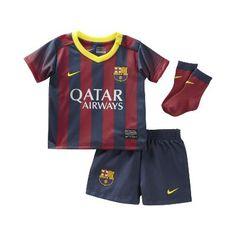 2013 14 FC Barcelona Replica Infants  Soccer Kit -  60 For my son   8a7abf1ae