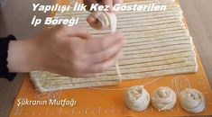 Yapılışı İlk Kez Gösterilen İp Böreği – Kurabiye – Las recetas más prácticas y fáciles Baklava Recipe, Baby Knitting Patterns, Food And Drink, Cooking Recipes, Tiramisu, Construction, Cases, Cookies, Amigurumi
