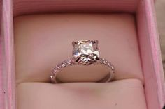 Pretty, only with a princess cut diamond tho =)
