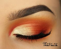 Check out our favorite Sunset inspired makeup look. Embrace your cosmetic addition at MakeupGeek.com!