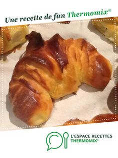 Croissants by veroch. A fan recipe to find in the Breads & Viennoiseries category on www.espace-recett …, from Thermomix®. Croissants by veroch. A fan recipe to find in the Breads & Viennoiseries category on www.espace-recett …, from Thermomix®. Vegan Thermomix, Thermomix Desserts, Vegan Breakfast Recipes, Dessert Recipes, Ground Beef Keto Recipes, Recipes For Beginners, Diet Recipes, Planks, Recipes