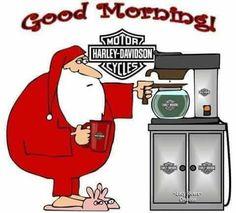 Harley Davidson Quotes, Harley Davidson Wallpaper, Motor Harley Davidson Cycles, Harley Davidson Motorcycles, Good Morning Wishes, Good Morning Quotes, Good Morning Christmas, Christmas Things, Merry Christmas
