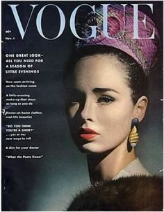 Vintage Vogue magazine covers - mylusciouslife.com - Vintage Vogue November 1961.jpg