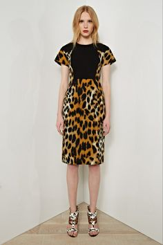 """Rachel Roy - My 3 Faves From Resort 2014 http://toyastales.blogspot.com/2013/06/rachel-roy-my-3-faves-from-resort-2014.html There is a way to wear leopard print without looking like Peg Bundy from the old TV show """"Married With Children"""" and Rachel Roy is showing us how in this sophisticated sheath. While it may not be appropriate for most work environments it is a sexy and chic alternative for a date night or dinner party...Click On Link To View All Images"""