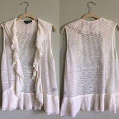 RL Cardigan White sweater cardigan great condition Ralph Lauren Jackets & Coats