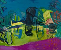 William Crozier - Green Pond, Battersea, 1998, oil on canvas