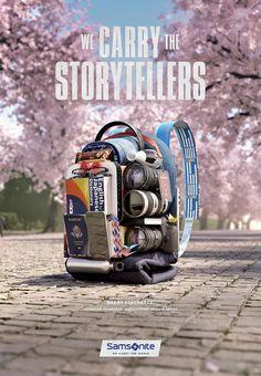 http://adsoftheworld.com/media/outdoor/samsonite_we_carry_the_world_storytellers