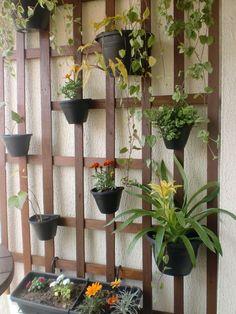 Aproveitar as paredes da varanda