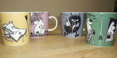 More Moomin Merchandise Moomin Mugs, Tove Jansson, Coffee Cups, Fancy, Tableware, Coffee Mugs, Dinnerware, Tablewares, Coffee Cup