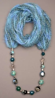 Sciarpa gioiello - Light Blue Suggestions for Christmas!