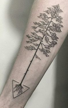 Modern tattoo for a modern man.