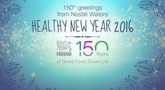 Healthy New Year 2016 !  #2016 #150Nestlé #health