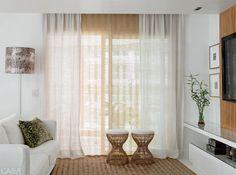 cortina apartamento pequeno branco - Pesquisa Google