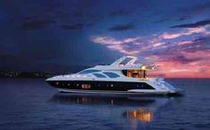 bateau de luxe et intérieur des plus beaux yachts