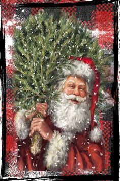 Vintage christmas pictures kerst New ideas Vintage Christmas Images, Christmas Scenes, Christmas Past, Victorian Christmas, Winter Christmas, Father Christmas, Christmas Villages, Christmas Fashion, Christmas Christmas