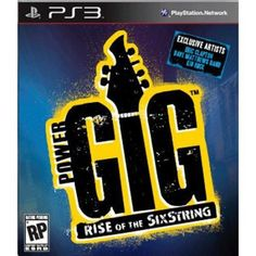 Power Gig: Rise of the Six String  Game Only (PS3)