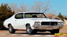 1970 Buick Gs Stage 1 - Status: Highest Bid ($74,000) at Kissimmee 2020 (Mecum) - Throddal Buick Muscle Car, Muscle Cars, My Dream Car, Dream Cars, Grand National Car, Buick Gsx, Buick Cars, Buick Skylark, Buick Regal