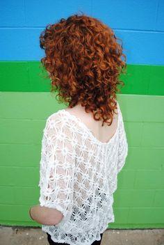 cute layered cut for curly hair