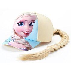 Disney Toddler Girl's Frozen Elsa Braid Baseball Cap in Blue (NEW) Disney Frozen Toys, Disney Princess Toys, Elsa Fancy Dress, Princess Dress Up, Toy Cars For Kids, Toys For Girls, Baby Alive Dolls, Baby Dolls, Elsa Braid