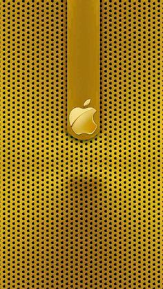 this is a golden apple . Gold Wallpaper Hd, Apple Iphone Wallpaper Hd, Ipad Mini Wallpaper, Iphone Homescreen Wallpaper, Phone Screen Wallpaper, Cellphone Wallpaper, Mobile Wallpaper, Stripped Wallpaper, Ios Iphone