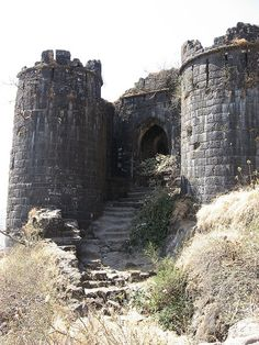 Sinhagad Fort by Himanshu  Sarpotdar, via Flickr