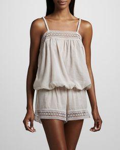 Mia Short Pajamas by Hanro at Neiman Marcus.