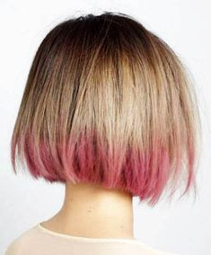 Haarfarben Dip-Dyed Bob What Do The Insulated Flame Resistant Work Uniforms Actually Contain? Dip Dye Bob, Dip Dye Hair Short, Short Hair Cuts, Short Hair Styles, Bob Hairstyles For Fine Hair, Protective Hairstyles, Hairstyles Haircuts, Medium Hairstyle, Hairstyle Men