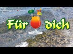 kleine Erfrischung für dich 🍸 ich wünsche dir einen schönen Tag 🙋♀️ liebe Grüße von mir 💌 - YouTube Gif Silvester, Beautiful Good Night Images, Cocktails, Amor, Morning Sayings, Friendship Quotes Thank You, Friendship Love, Craft Cocktails, Cocktail