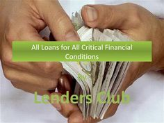 All loans for all critical financial conditions  Whether it is the bad credit loans in the UK or business loans for the unemployed, we are here to help you. For more information, get in touch with us on: http://www.lendersclub.uk/