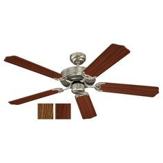 Sea Gull 15030-962 - Quality Max Ceiling Fan in Brushed Nickel