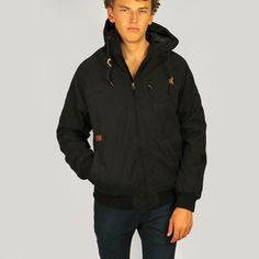 Volcom Mens Hernan II Jacket: Black £95.00