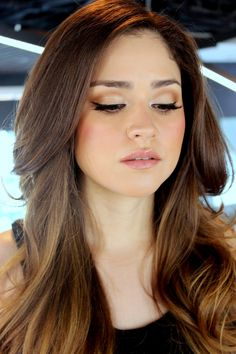 Neutral colors  #rafamakeupartist #chanel #makeup #beauty #fashion #girl #woman #cosmetics #maquillaje #lipstick #eyes