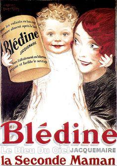 Blédine mettait l'accent sur le lien entre l'enfant et la mère, en donnant un complément d'informations important pour l'époque.