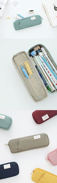Whether you prefer to carry many different writing tools or carry the pens you love, you can't go wrong with A Low Hill Pocket Pencil Pouch. Thanks to its clean design and 2 available different sizes, you can find the exact pouch you'd want to suit your need!